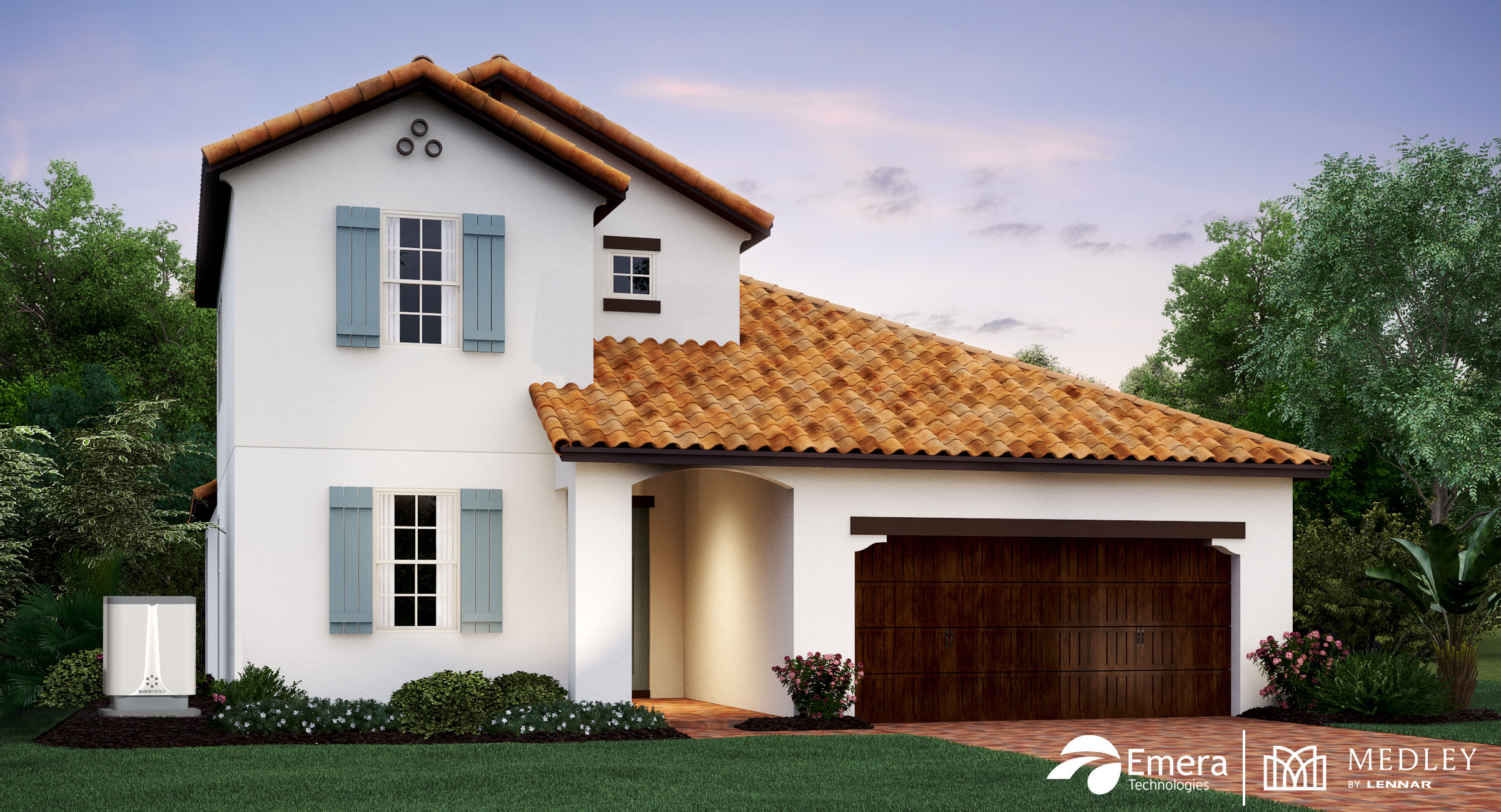 Lennar Medley Model Home with BlockEnergy